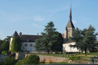 Eglise et Château_Argent sur Sauldre
