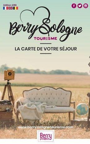 Carte touristique Berry-Sologne