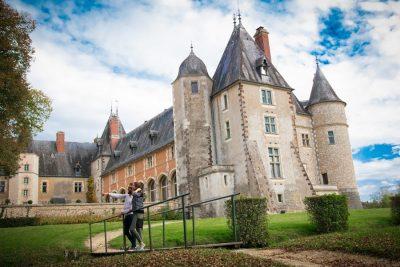 Visite du château de la Verrerie