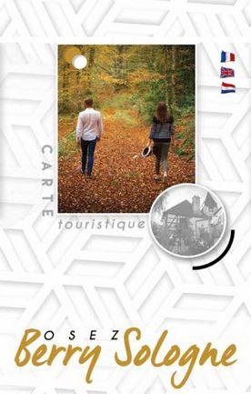 Carte touristique Sauldre et Sologne